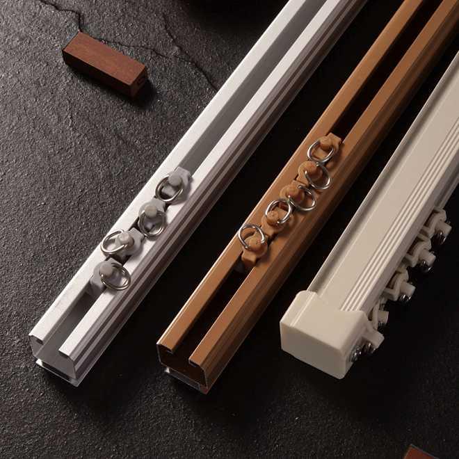 Powder Color Curtain Track Aluminum Profile