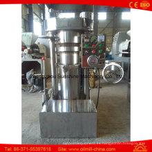 Máquina de prensa hidráulica de aceite de extracción de semillas de calabaza de cacao de 45 kg