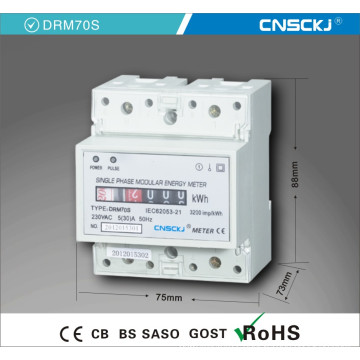 Single Phase Electronic DIN-Rail Active Enegry Meter