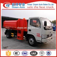 Китай Новое состояние 4x2 небольшой мусороуборочный автомобиль