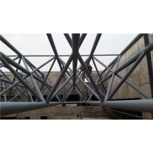 Stahlrahmen-Kuppel-Halle, Stahlbinder-Struktur