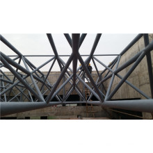 Cobertizo de domo de estructura de acero, Estructura de armadura de acero