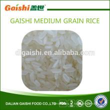 Gaishi высокое качество среднезерный белый рис для продажи