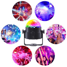 Magic decorations battery powered RGB flash led disco ball lights for stage