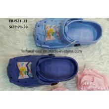 Slipper Style Casual EVA Sabots Chaussures de jardin pour les enfants (FBJ521-11)