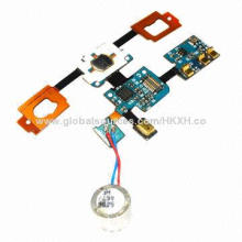 Home Button Sensor Mic Flex Cable for Samsung Galaxy S i9000 Mobile Phones, High-quality Repair Part