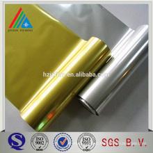 12 micron silver /gold metallized PET film