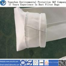 Saco de filtro do coletor de poeira da fibra de vidro para a indústria da metalurgia