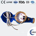 XDO PRSWM-15-50 remote reading pulse output reed switch water meter