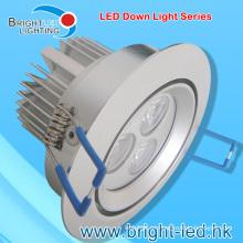 9W LED impermeable abajo luz con el certificado de RoHS del CE