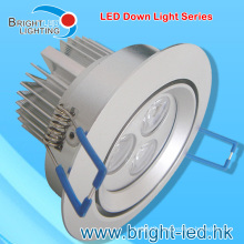 9W Waterproof LED Down Light with CE RoHS Certificate