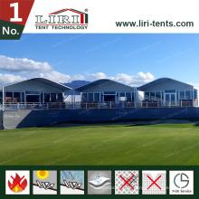 Halbkuppelzelt mit Aluminiumlegierungs-Doppeldecker-Zelt-zweistöckigem Zelt