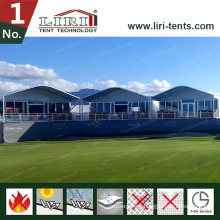 Half Dome Tent with Aluminum Alloy Double Decker Tent Two Storey Tent