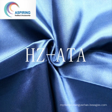 Poly Satin Fabric/75dx150d Satin Fabric