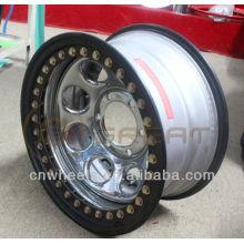 Utility 4x4 chrome beadlock wheel