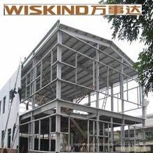 Garagem de construção de aço de c-seção de folha única ondulada