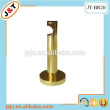 heavy duty steel round gold metal bracket, i shape aluminum bracket