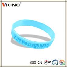 World Selling Product Promotionnel bracelet en silicone
