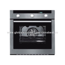 220 to 240V/50Hz Kitchen Toaster Oven with Treble Glazed Glass Door and Stainless Steel Panel