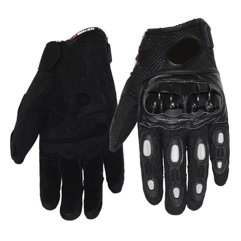 Full Finger Gloves With Rubber