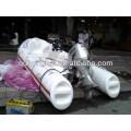 bateau en fibre de verre bateau gonflable PVC