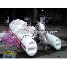 barco inflable del PVC de la nave de fibra de vidrio
