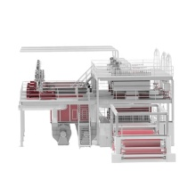 Máquina de produção de tecido não tecido avançado 1600/2400/3200 / 4200MM SSS