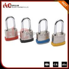 Elecpopular impermeable seguridad bloqueo almohadilla combinación laminado-candado