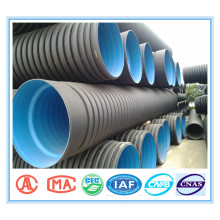 High quality custom-made pe double-wall corrugate pipe