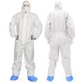 Mono reutilizable de seguridad PPE Overol de seguridad para materiales peligrosos