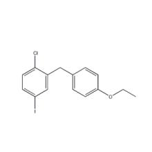 4-Iodo-1-chloro-2- (4-ethoxybenzyl) เบนซินสำหรับ Ertugliflozin 1103738-29-9