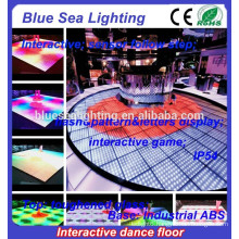 Light up DMX interactive buy disco led dance floor tiles