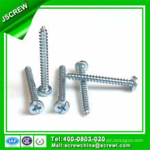 30mm Pan Head Cross Drive Self Tapping Screw for Wood