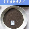 Cuentas redondas granate natural usadas como abrasivo