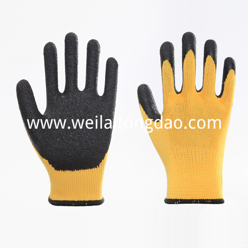 Industrial Cotton Knitted Work Hand Gloves