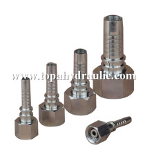 Cheap for Hose Fittings Stainless steel eaton metric hydraulic fittings supply to Haiti Supplier