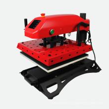 FJXHB1 Hitzepresse-Maschine Luft-Kompressor-T-Shirt Presse