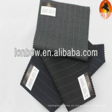 Diseño italiano Tejido de traje de espina de pescado de calidad superior a medida