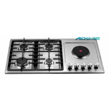 5 Burners Electronic Kitchen Equipment