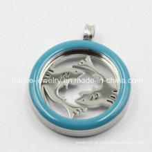 Melhor venda de aço inoxidável moda Locket pingente para colar