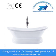 China Manufacturers for Clawfoot Bathtub Ellipse Acrylic Classic stand alone bathtubs supply to Spain Exporter