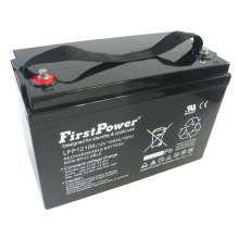 Bateria profunda do trole do poder da bateria 12V100AH do ciclo da reserva