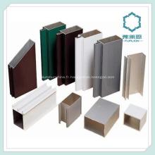 Profils de cadre de fenêtre en aluminium