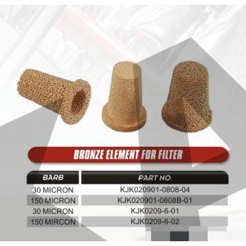 sintered powder Brass Fuel filters
