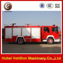 6 Räder 8 Tonnen 2000 Gallonen HOWO Feuerwehrauto