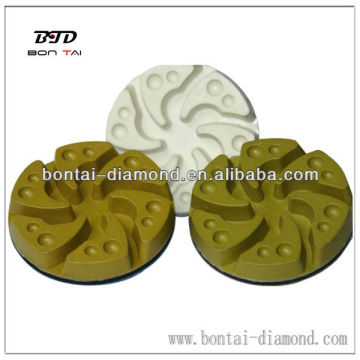3 inch 10mm resin pucks dry polishing pad