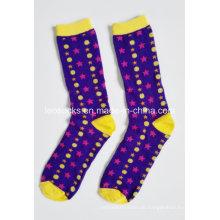 2015 neueste Design 100% Baumwolle Großhandel Mode benutzerdefinierte Frauen Socke