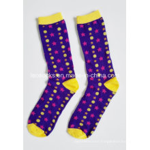 2015 Latest Design 100% Cotton Wholesale Fashion Custom Women Sock