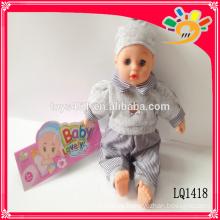 Spielzeug Puppe lebensechte wiedergeborene Baby Puppen mit IC 14 Zoll schöne Vinyl wasserdicht