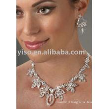 Conjunto de jóias de corações reais